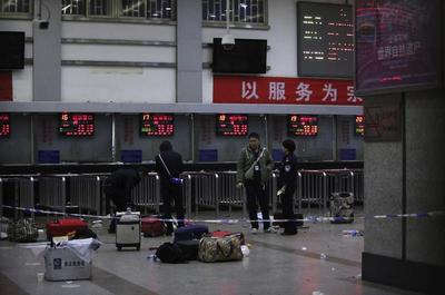 China train station attack