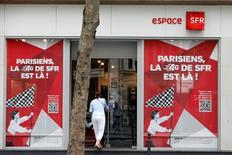 Vivendi a reçu deux offres engageantes de prise de contrôle majoritaire pour sa filiale télécoms SFR, de la part de Bouygues et d'Altice, maison mère de Numericable. /Photo prise le 29 août 2013/REUTERS/Charles Platiau