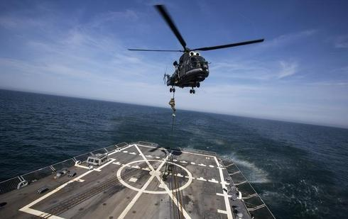 Black Sea military drill