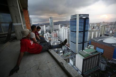 Venezuela's skyscraper slum