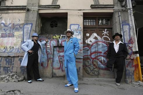 Pachuco style in Mexico City