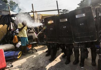 Rio slum eviction