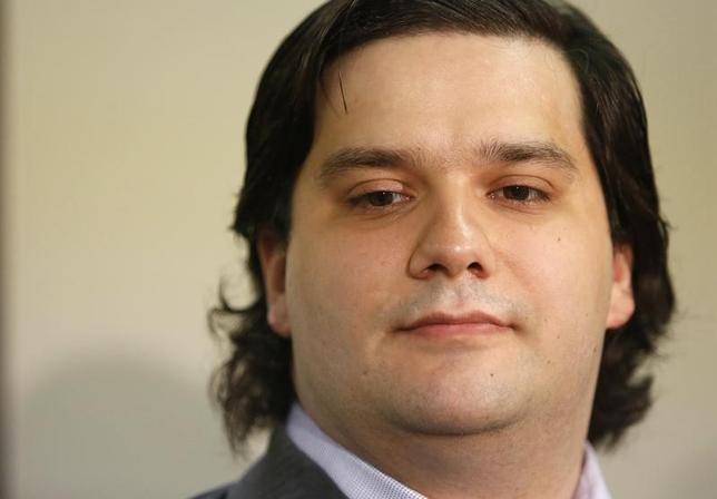 Mark Karpeles, chief executive of Mt. Gox, attends a news conference at the Tokyo District Court in Tokyo February 28, 2014. REUTERS/Yuya Shino/Files