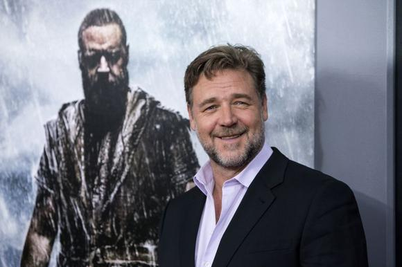 Cast member Russell Crowe attends the U.S. premiere of ''Noah'' in New York March 26, 2014. REUTERS/Andrew Kelly (UNITED STATES - Tags: ENTERTAINMENT) - RTR3IR0W