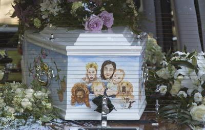 Funeral for Peaches Geldof