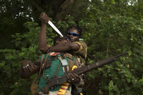 Portraits of anti-balaka militants