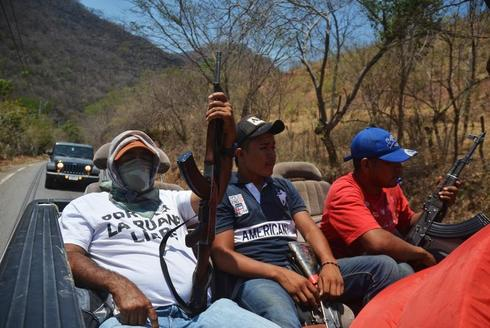 Anti-cartel vigilantes
