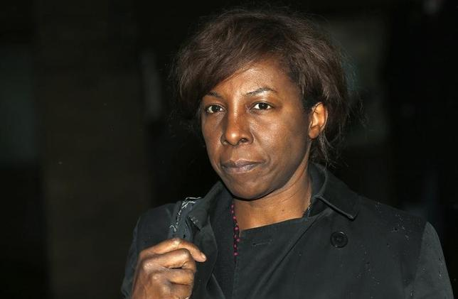 Judge Constance Briscoe leaves Southwark Crown Court in London January 31, 2014. REUTERS/Suzanne Plunkett