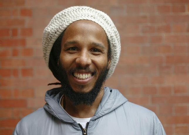 Musician Ziggy Marley poses for a portrait ahead of his headline show in London, in support of his 5th album Fly Rasta, April 23, 2014.   REUTERS/Matilda Egere-Cooper