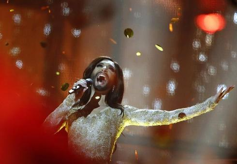 'Bearded lady' wins Eurovision