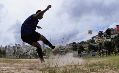 Sunday soccer in Brazil