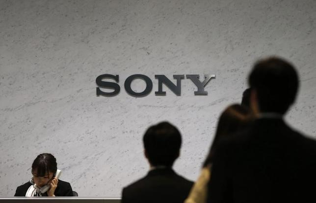 Sony Corp's logo is seen at the headquarters in Tokyo February 6, 2014. REUTERS/Toru Hanai/Files