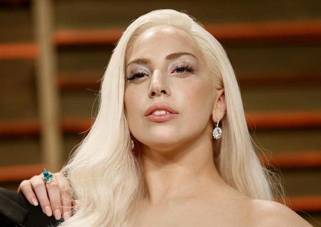 Musician Lady Gaga arrives at the 2014 Vanity Fair Oscars Party in West Hollywood, California March 2, 2014. REUTERS/Danny Moloshok