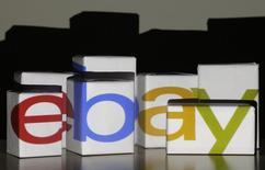 Le groupe de commerce en ligne eBay a annoncé mercredi qu'une base de données avait été forcée par une cyberattaque entre la fin février et le début mars et que des informations non financières de la clientèle avaient été volées. /Photo prise le 22 janvier 2014/REUTERS/Kacper Pempel