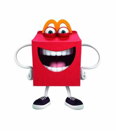 McDonald's restaurant new Happy Meal mascot is seen in this undated handout picture.  REUTERS/McDonald's
