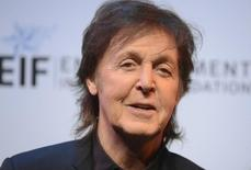 "Musician Paul McCartney attends The Shakespeare Center of Los Angeles 23rd Annual Simply Shakespeare benefit reading of ""The Two Gentlemen of Verona"" in Santa Monica, California September 25, 2013. REUTERS/Phil McCarten"