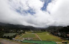 Vista da Granja Comary, com a cidade de Teresópolis ao fundo. 26/03/2014 REUTERS/Sergio Moraes