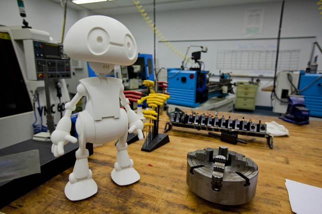 Intel's Jimmy the Robot is shown in this publicity photo released to Reuters May 28, 2014. REUTERS/Intel/Handout via Reuters