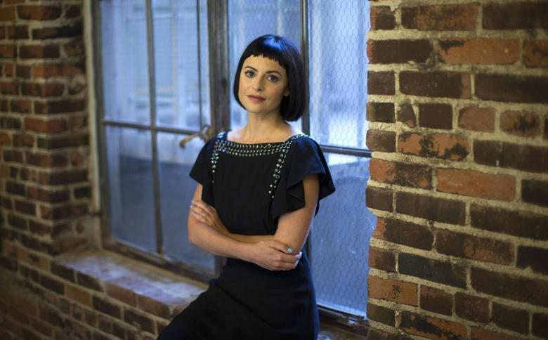Sophia Amoruso, founder and owner of fashion site NastyGal, poses at her offices in Los Angeles, California May 15, 2014.  REUTERS/Mario Anzuoni