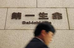 Le japonais Dai-ichi Life est en négociations avancées en vue du rachat de l'américain Protective Life, qui représenterait la plus grosse acquisition à ce jour pour un assureur japonais, a-t-on appris d'une source au fait du dossier. /Photo d'archives/REUTERS/Yuriko Nakao