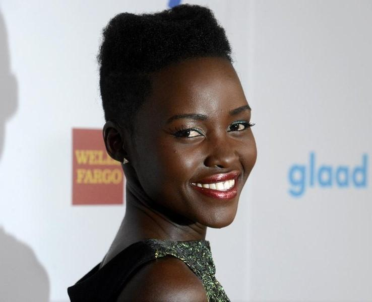 Actress Lupita Nyong'o attends the 25th annual GLAAD Media Awards in Beverly Hills, California, April 12, 2014. REUTERS/Phil McCarten