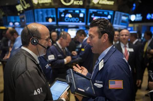 Dow, S&P end at records; Apple, Google drag on Nasdaq