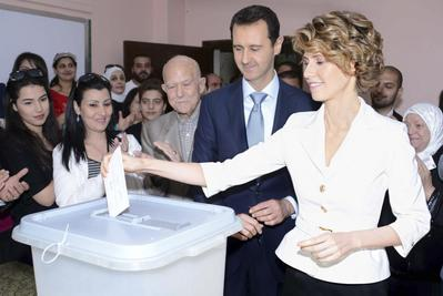Syria's wartime election