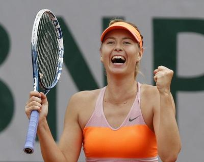 Sharapova lives to fight another day, Gulbis powers on