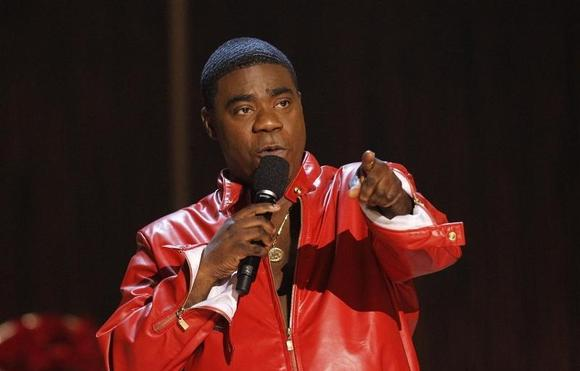 Actor Tracy Morgan speaks during an event at the Saban theatre in Beverly Hills, California November 3, 2012. REUTERS/Mario Anzuoni/Files
