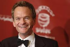 Actor Neil Patrick Harris meets the media after he was honored as Hasty Pudding Theatricals' Man of the Year during a roast at Harvard University in Cambridge, Massachusetts, February 7, 2014.  REUTERS/Dominick Reuter