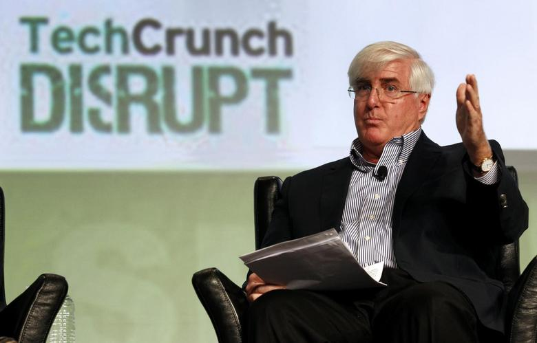 SV Angel's Ron Conway speaks during a question and answer session at the Tech Crunch Disrupt conference in San Francisco, California, in this file photo from September 11, 2012. REUTERS/Beck Diefenbach/Files