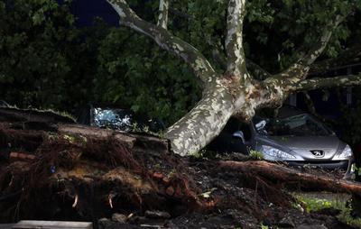 Storm in western Germany kills six, disrupts transport