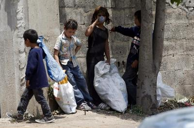 Thousands of Syrian refugee children in Lebanon forced...