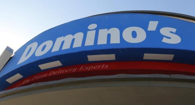 Signage at a Domino's pizza restaurant is pictured in Burbank, California October 16, 2012. REUTERS/Fred Prouser