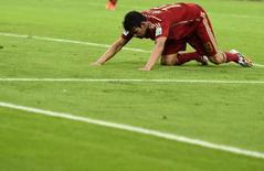Jogador da seleção espanhola Diego Costa durante partida contra o Chile no Maracanã, Rio de Janeiro. 18/6/2014 REUTERS/Dylan Martinez