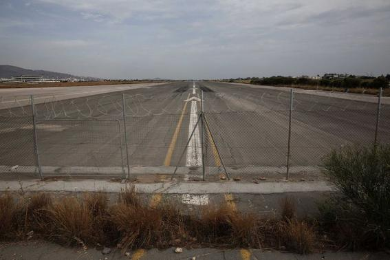Big Dreams and Angry Protests Swirl at Abandoned Athens Airport
