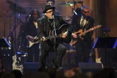 Bobby Womack performs at the Rock and Roll Hall of Fame 2009 induction ceremonies in Cleveland, Ohio April 4, 2009. REUTERS/Aaron Josefczyk