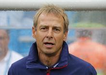Técnico dos EUA Juergen Klinsmann na Arena Pernambuco, em Recife. 26/6/2014. REUTERS/Yves Herman
