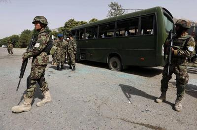 Suicide bomber kills eight, wounds 13 in Afghan...