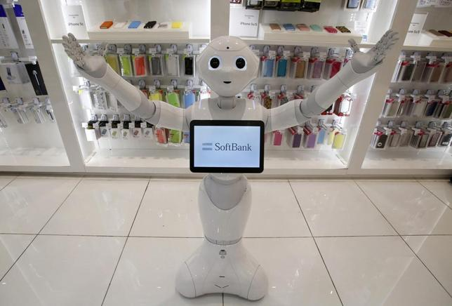 SoftBank Corp's human-like robot named 'Pepper' is displayed at its branch in Tokyo in this June 6, 2014 file photo. REUTERS/Yuya Shino/Files