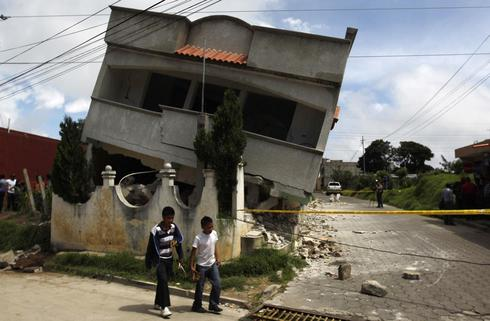 Quake rocks Guatemala and Mexico