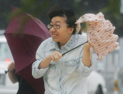 Typhoon Neoguri hits Japan