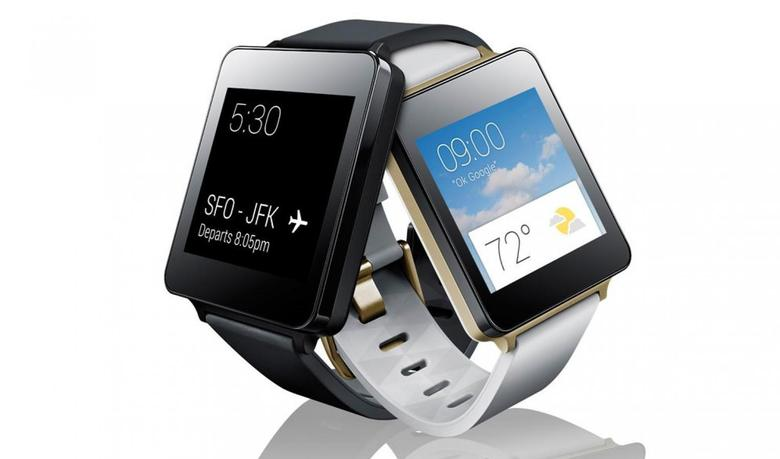 The LG G Watch in an undated image courtesy of the company.   REUTERS/LG Electronics