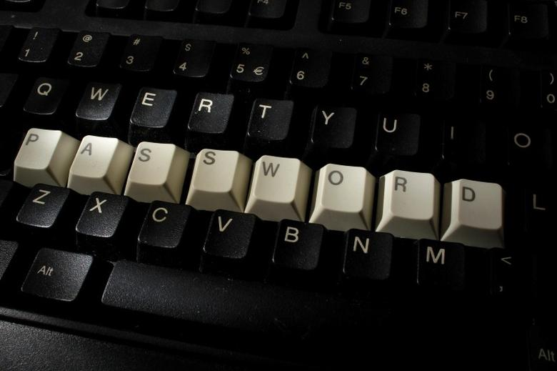 A computer keyboard with letters stacked forming the word 'password'  is seen in this illustration picture taken in Warsaw, December 12, 2013.  REUTERS/Kacper Pempel/Files