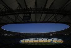 Jogadores da Alemanha participam de treino no Maracanã, no Rio de Janeiro, em 3 de julho de 2014. REUTERS/Darren Staples
