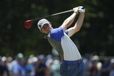 Rory McIlroy tees on the third tee during the final round of the 2014 U.S. Jun 15, 2014; Pinehurst, NC, USA;Jason Getz-USA TODAY Sports