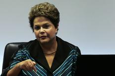 Presidente Dilma Rousseff durante encontro com presidente do COI em Brasília. 11/07/2014. REUTERS/Ueslei Marcelino