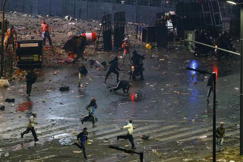 Clashes in Argentina
