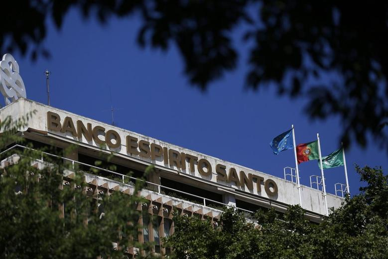 Portuguese bank Banco Espirito Santo's (BES) headquarters are seen in Lisbon July 11, 2014. REUTERS/Rafael Marchante