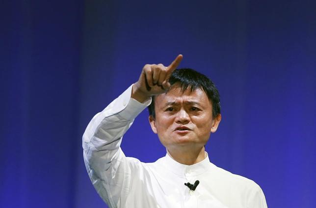 Jack Ma, the founder and executive chair of Alibaba Group Holding, speaks during the SoftBank World 2014 event in Tokyo July 15, 2014.    REUTERS/Toru Hanai